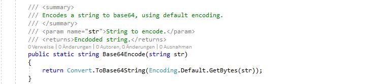 C# Base64 decode and encode – Jannik Strelow